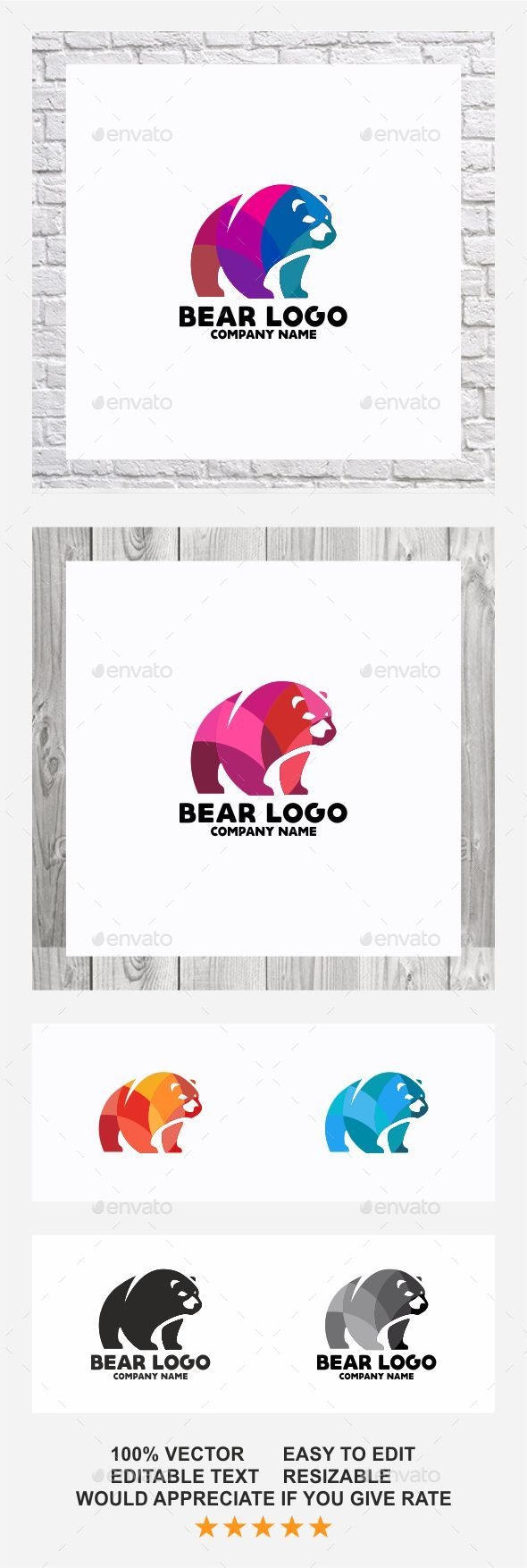 Bear Logo - Logo Templates