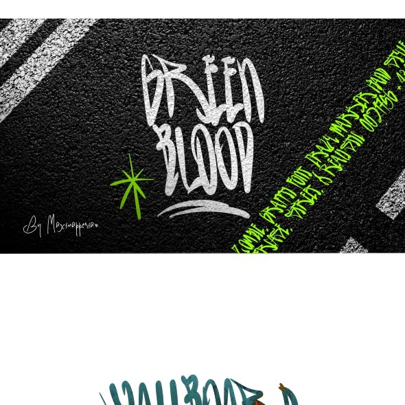 Green Blood Font