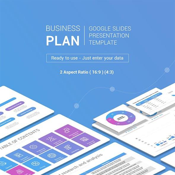 Business Plan - Google Slides Presentation Template