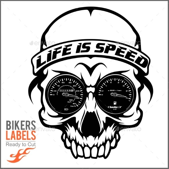 Skull and Speed - Miscellaneous Vectors