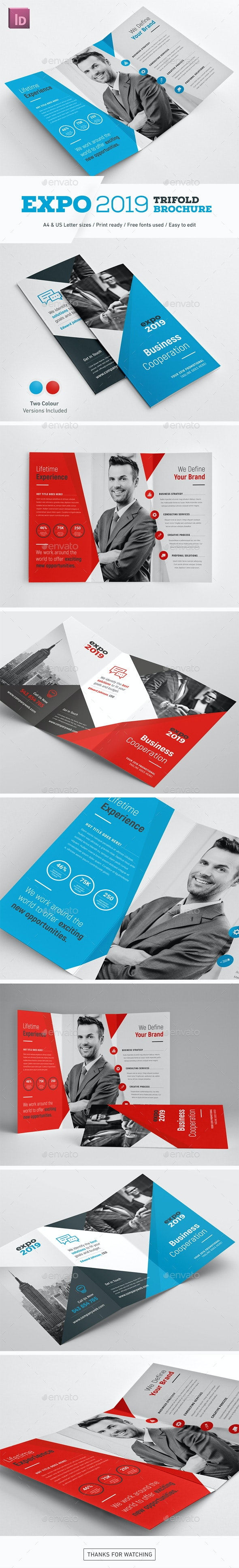 Expo 2019 Trifold Brochure - Corporate Brochures