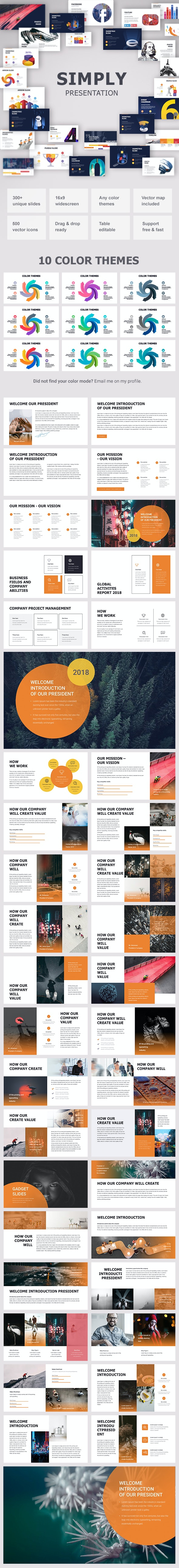Simply Powerpoint - Pitch Deck PowerPoint Templates