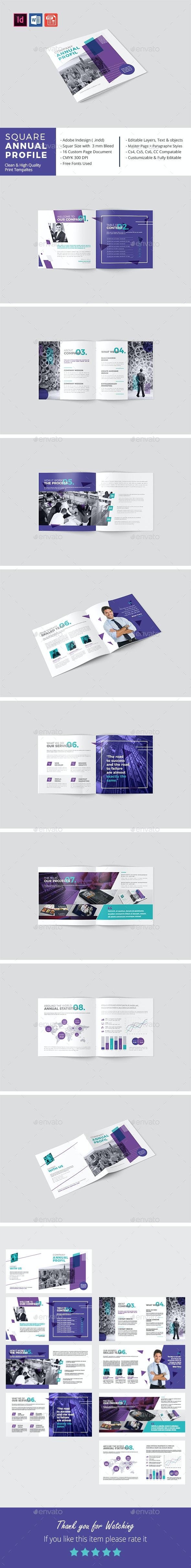 Square Annual Profile 2019 - Corporate Brochures
