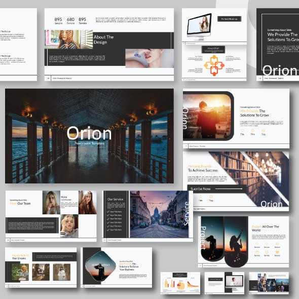 Orion Keynote Template
