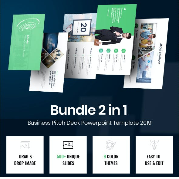 Bundle Smartest Pitch Deck Powerpoint Template