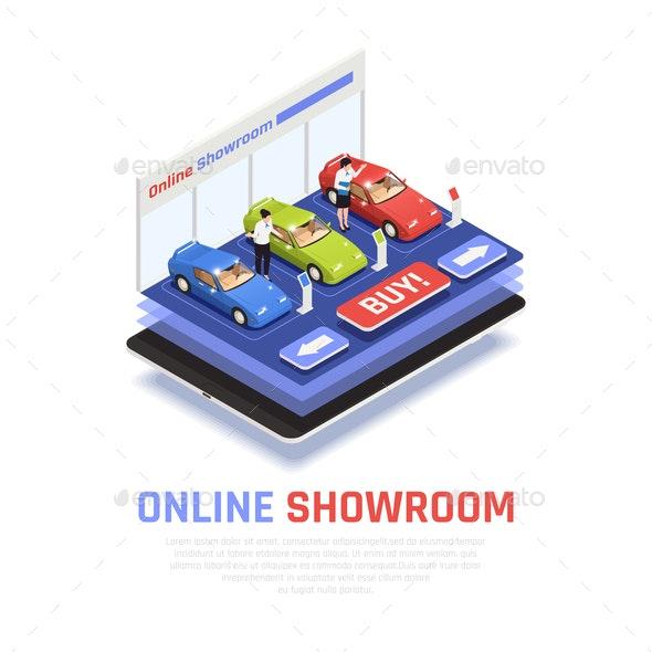 Car Dealership Composition - Miscellaneous Conceptual
