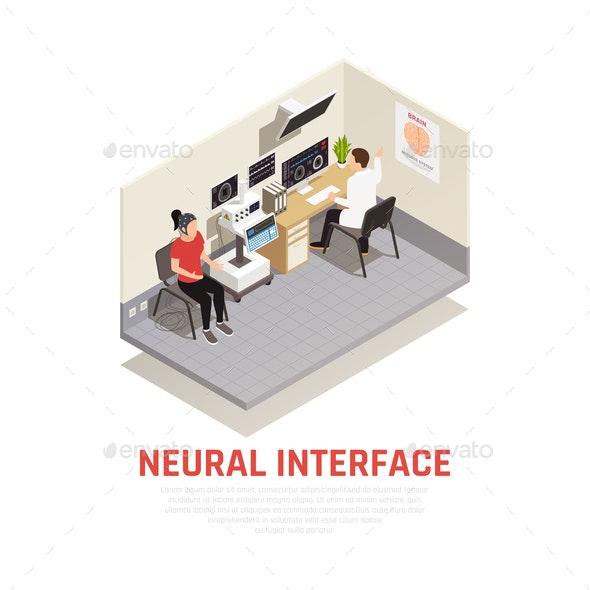 Neurology Concept Illustration - Health/Medicine Conceptual