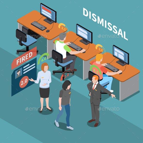 Social Score Dismissal Composition