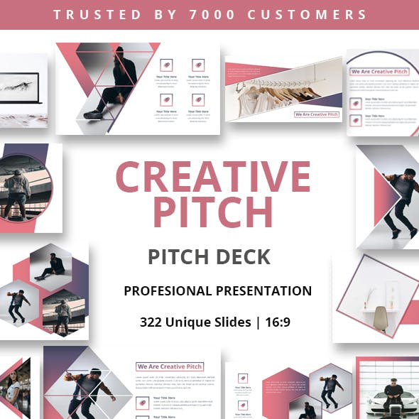Creative Pitch Powerpoint Template