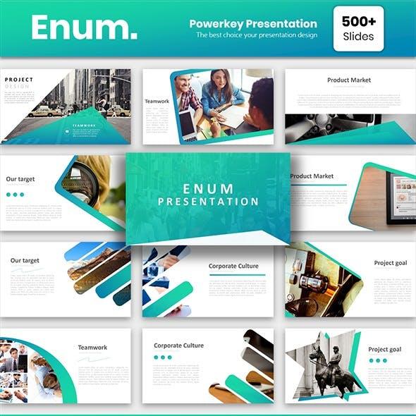 Enum Powerpoint Template