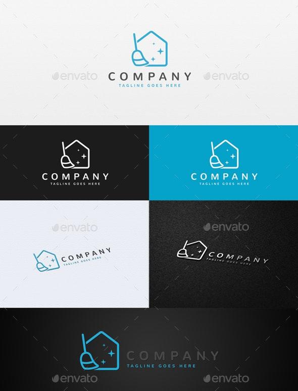 Clean House Logo - Buildings Logo Templates