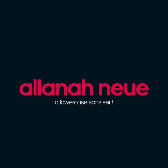 Allanah Neue Font