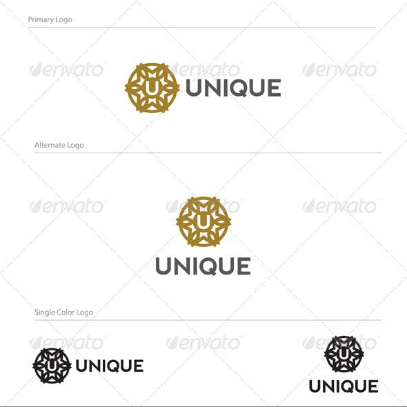 Unique Logo Design - LET-021