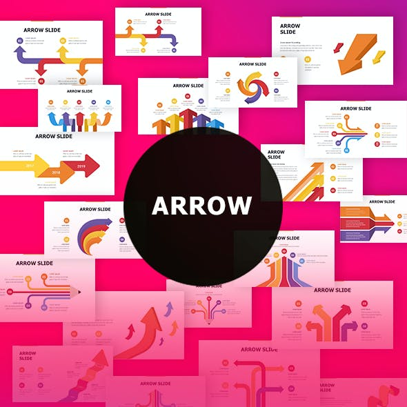 Arrow Infographic Keynote Template
