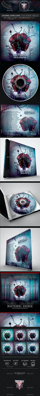 Nocturnal Sounds Photoshop CD/DVD Template - CD & DVD Artwork Print Templates