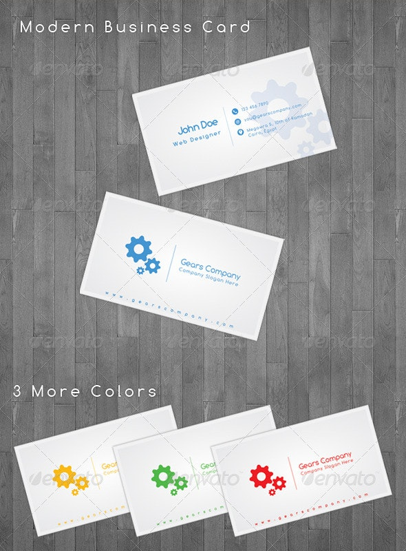Modern Business Cards - Corporate Business Cards