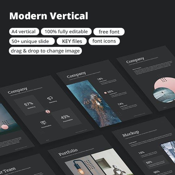 Modern Vertical - Keynote Template