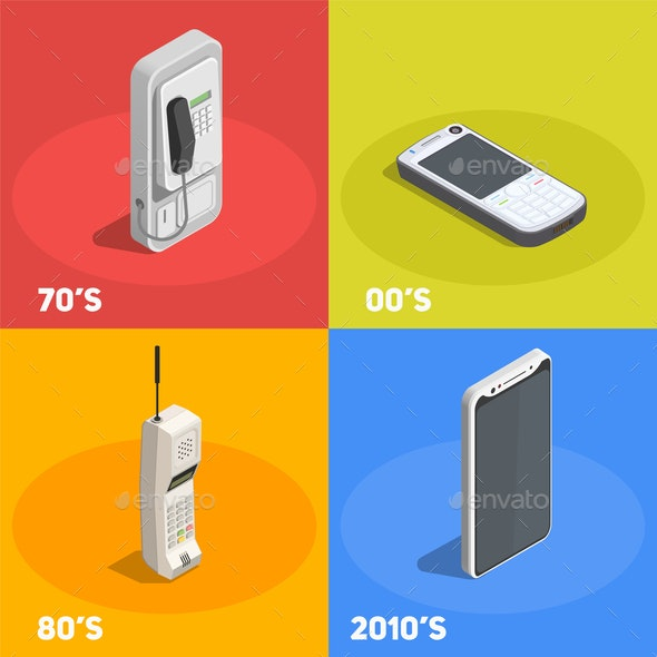 Retro Devices 2x2 Design Concept - Computers Technology