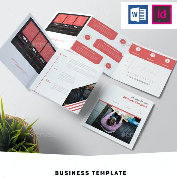 Square Business Template
