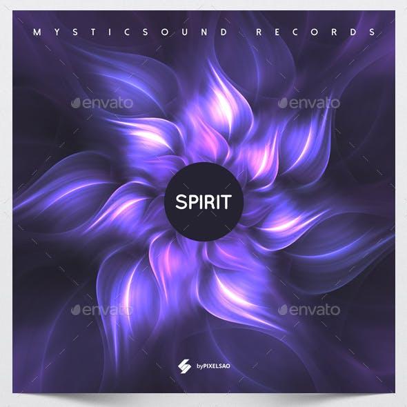 Spirit - Music Album Cover Artwork Template