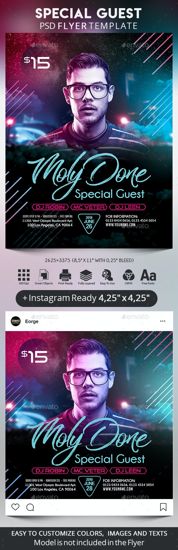 Special Guest - Clubs & Parties Events