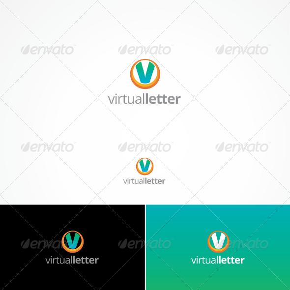 Virtual Letter - Letters Logo Templates