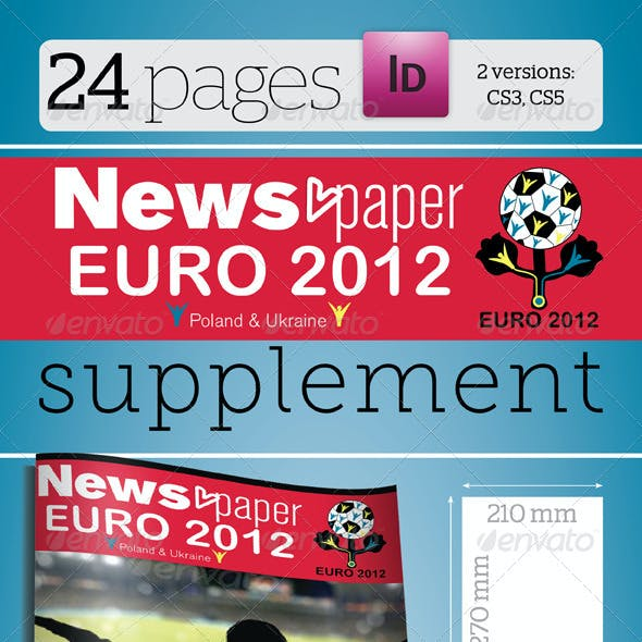24 Pages Euro 2012 Supplement For News.paper