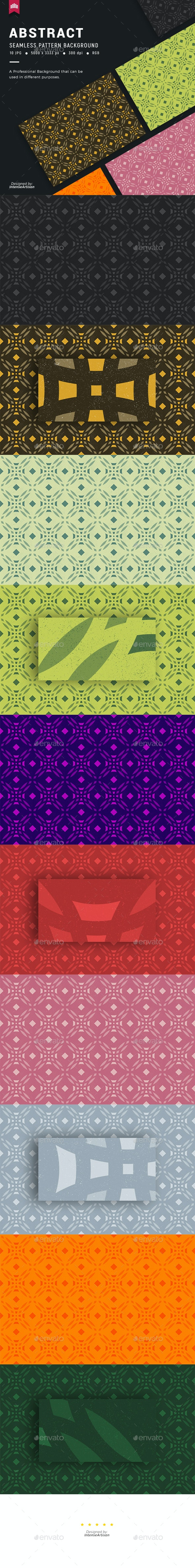 Abstract Seamless Pattern Background - Patterns Backgrounds