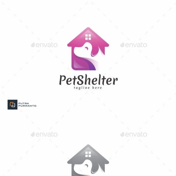 Pet Shelter - Logo Template