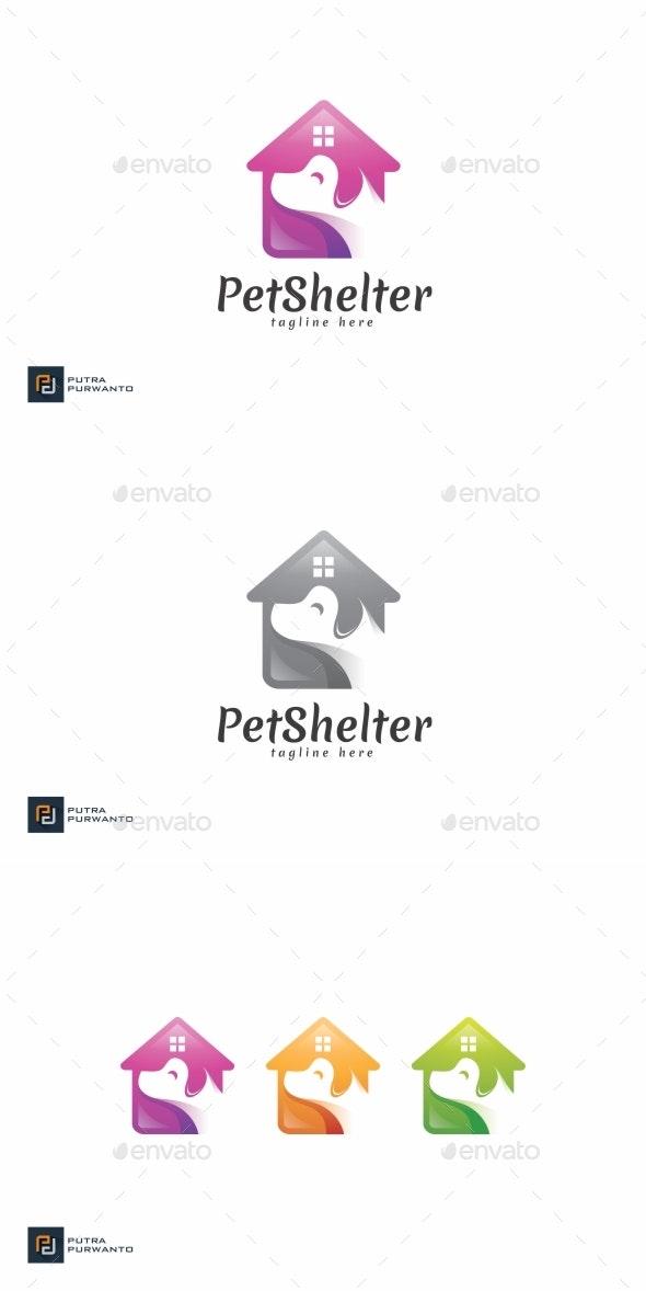 Pet Shelter - Logo Template - Animals Logo Templates