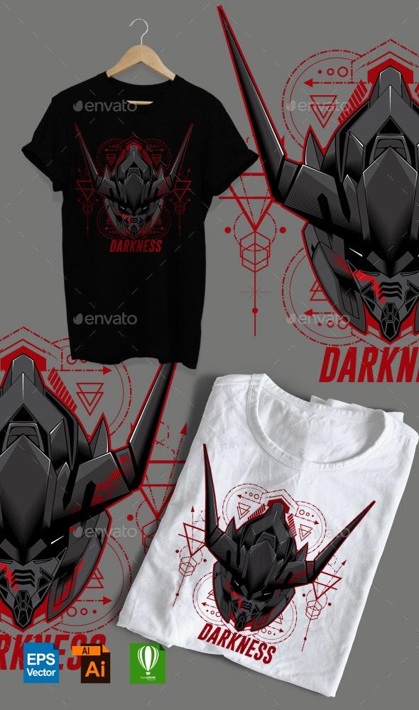 Darkness Design Tshirt - Sports & Teams T-Shirts