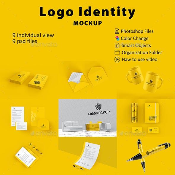 Stationery / İdentity Logo Mockup
