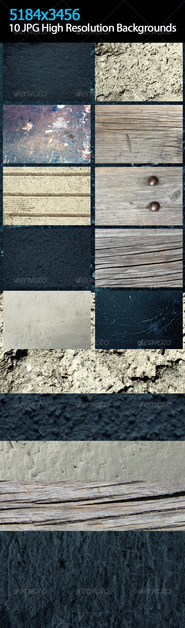Background Texture v.1 - Backgrounds Graphics