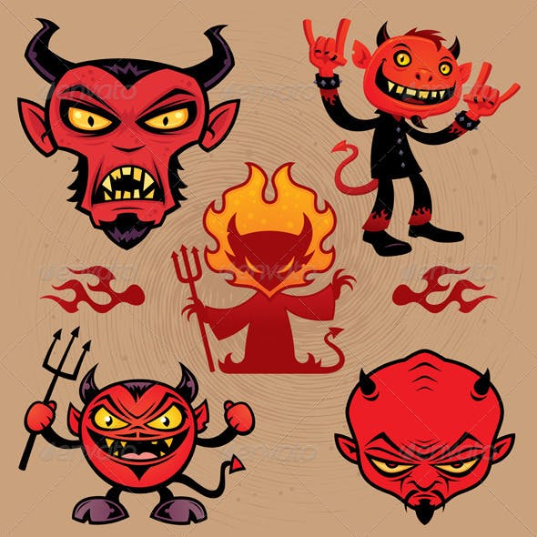 Cartoon Devil Collection