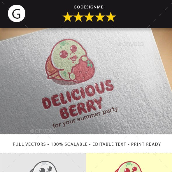 Delicious Berry Logo Design