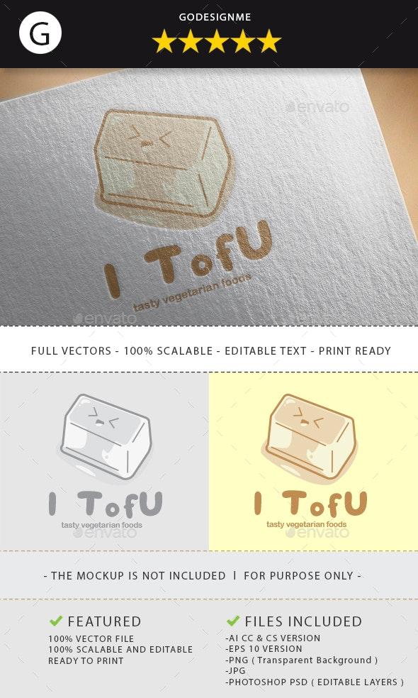 I Tofu Logo Design - Vector Abstract