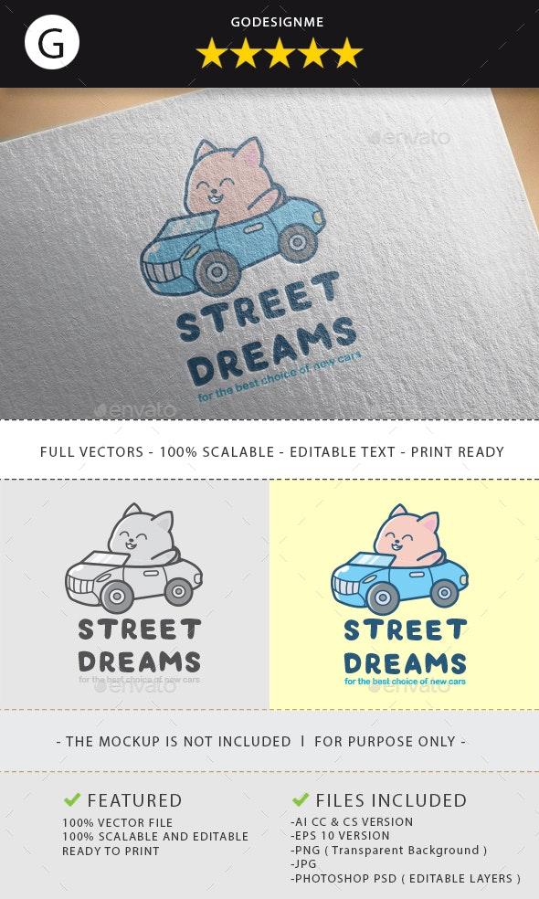 Street Dreams Logo Design - Vector Abstract