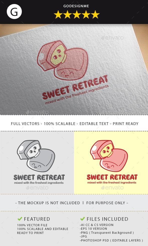 Sweet Retreat Logo Design - Vector Abstract