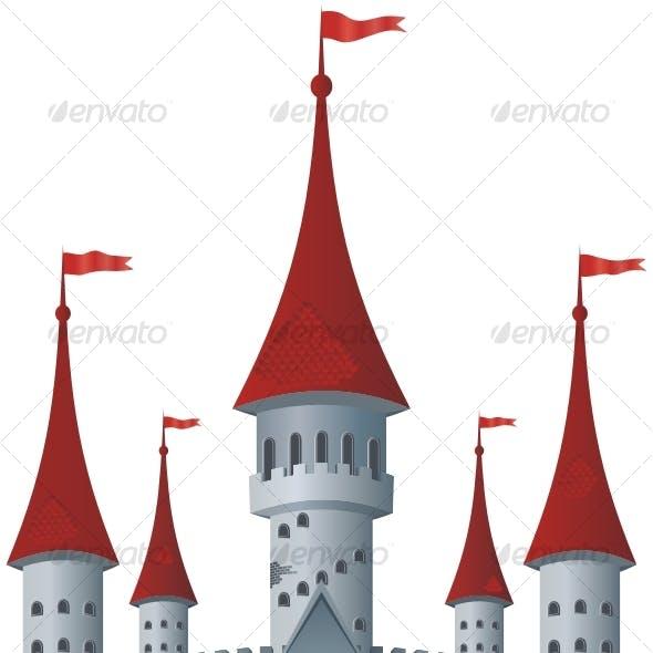 Fairy-tale castle