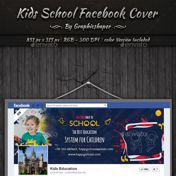 Kids School Facebook Cover