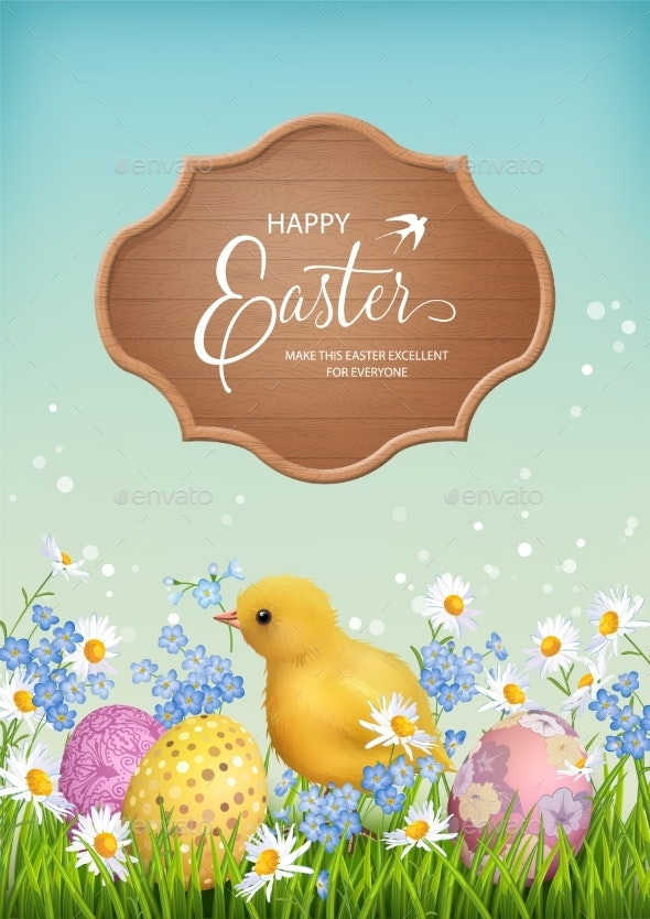 Happy Easter Card - Miscellaneous Seasons/Holidays