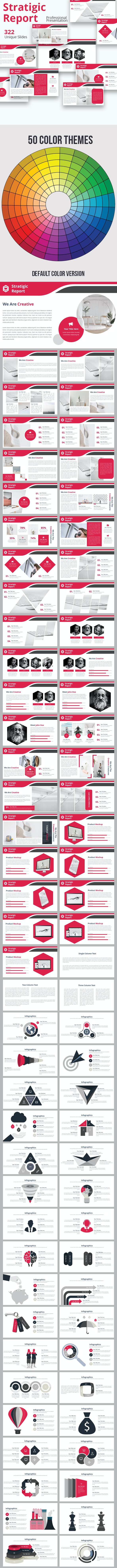 Stratigic Report Powerpoint Template - Business PowerPoint Templates