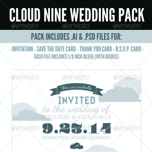 Cloud Nine Wedding Pack