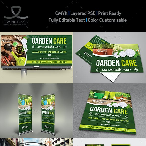 Garden Services Advertising Bundle