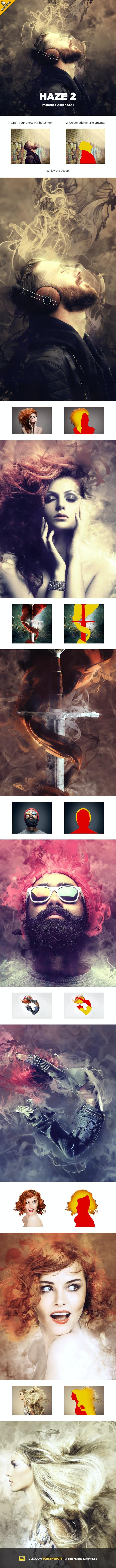 Haze 2 CS4+ Photoshop Action - Photo Effects Actions