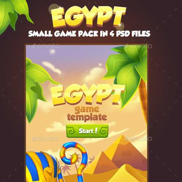 Small Egypt Game Pack
