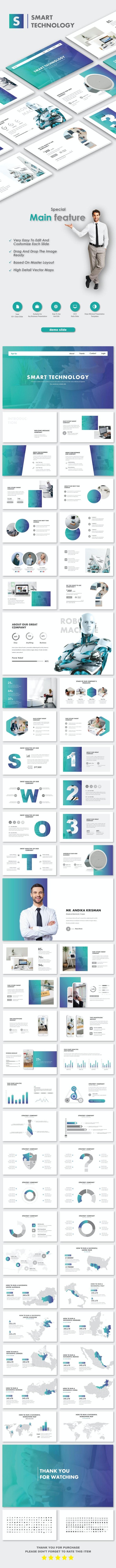 Smart Technology PowerPoint Templates - Business PowerPoint Templates