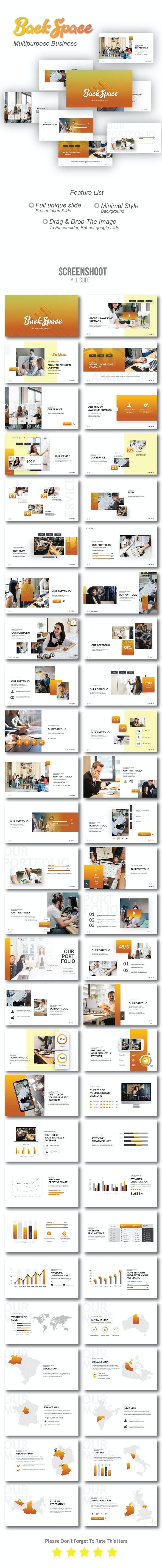 Backspace Business Powerpoint - Business PowerPoint Templates