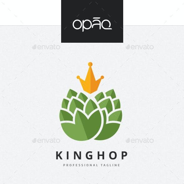 King Hop Beer Logo