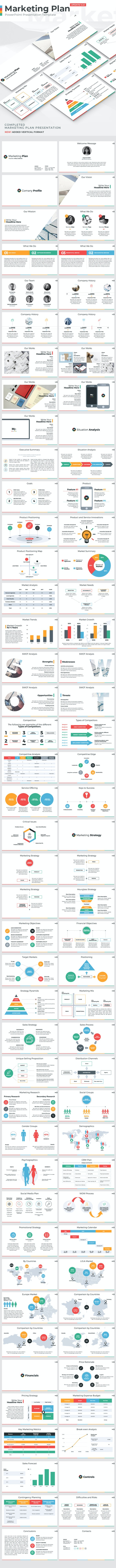 Marketing Plan - PowerPoint Presentation Template - PowerPoint Templates Presentation Templates
